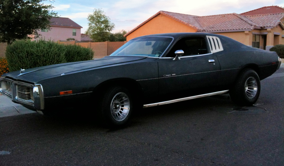 1974 Dodge Charger Project In Charge Dustinface Com