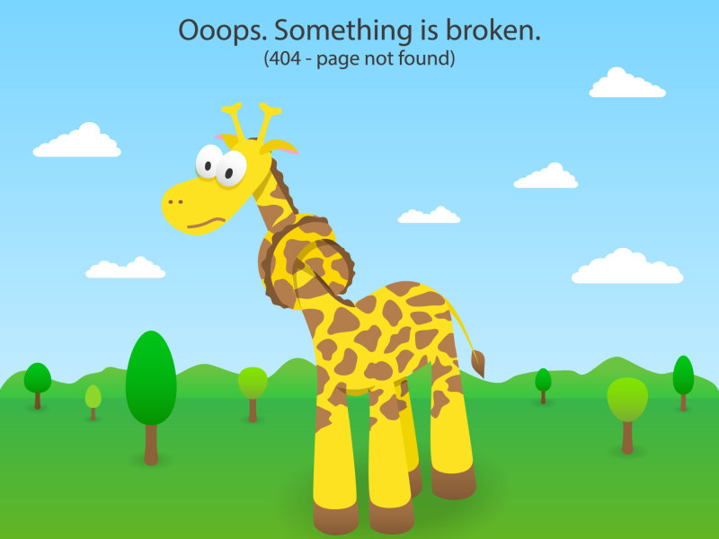 301 Redirects - At the very least, have a 404 error page