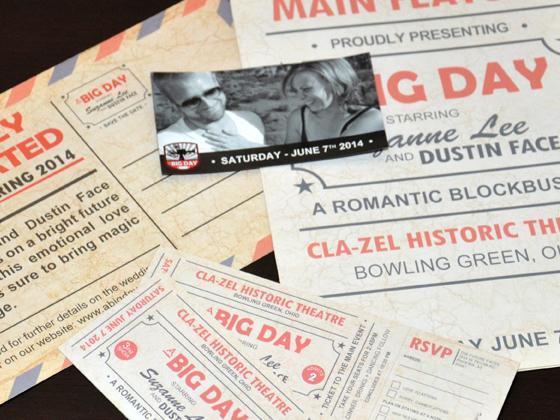 A Big Day Wedding Print Materials
